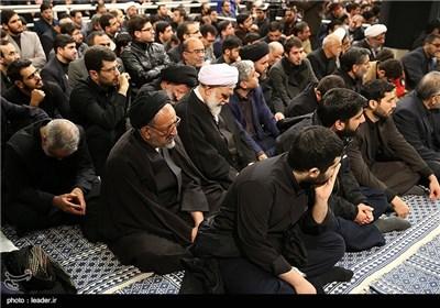 مراسم عزاداری اربعین حسینی(ع) در حضور رهبر معظم انقلاب اسلامی