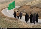 پیادهروی زائران رضوی| 15 روز در راه حرم آفتاب هشتم؛ روایت قدمهایی که نذر امام رئوف میشوند + فیلم