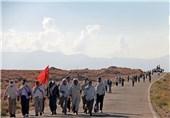 کاروان پیادهروی «از بهشت تا بهشت» قم به حرم امام رضا(ع) رسید