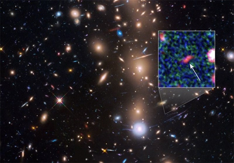 Faintest Galaxy from Early Universe, 400 Million Years after Big Bang