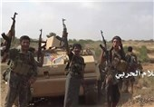 انهدام 10 خودروی نظامی مزدوران سعودی در نجران