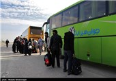 بازگشت زائران اربعین حسینی به کشور - مرز چزابه