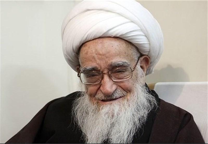 مرجع دینی فی ایران یثنی على الشعب العراقی لاستضافته زائری الاربعینیة