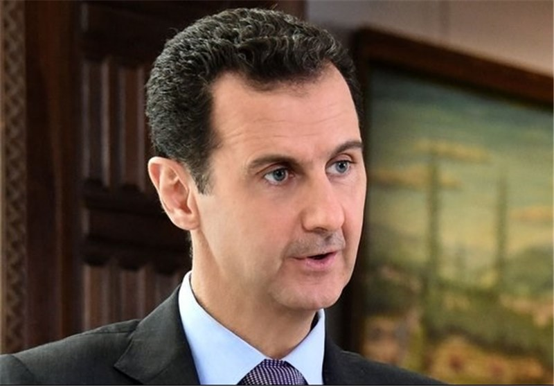 President Assad Hails Iran, Russia's Role in Fighting Terrorism