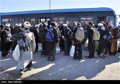Iranian Pilgrims Returning Home from Iraq