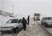 تردد در محورهای کوهستانی اصفهان با زنجیر چرخ امکانپذیر است