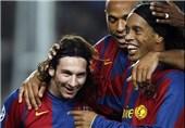 مسی: رونالدینیو قبل از ترک بارسا پیراهنش را برایم کنار گذاشته بود