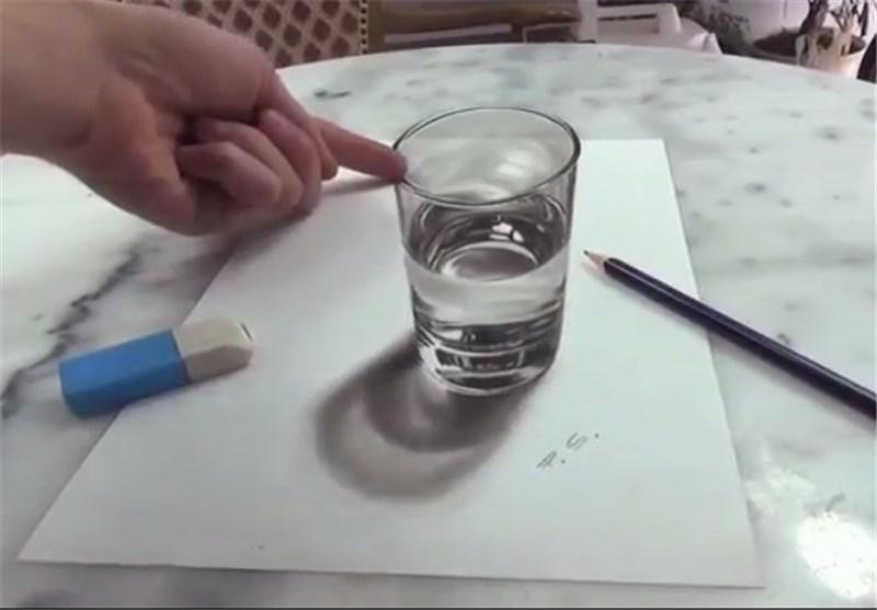 کانال+تلگرام+نقاشی+سه+بعدی
