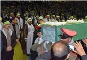 برادری بسیجیان ایرانی برای شهید غریب افغانستانی مدافع حرم