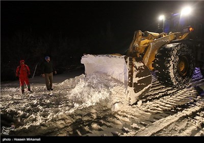 Iran Trying to Reopen Roads Blocked by Snow