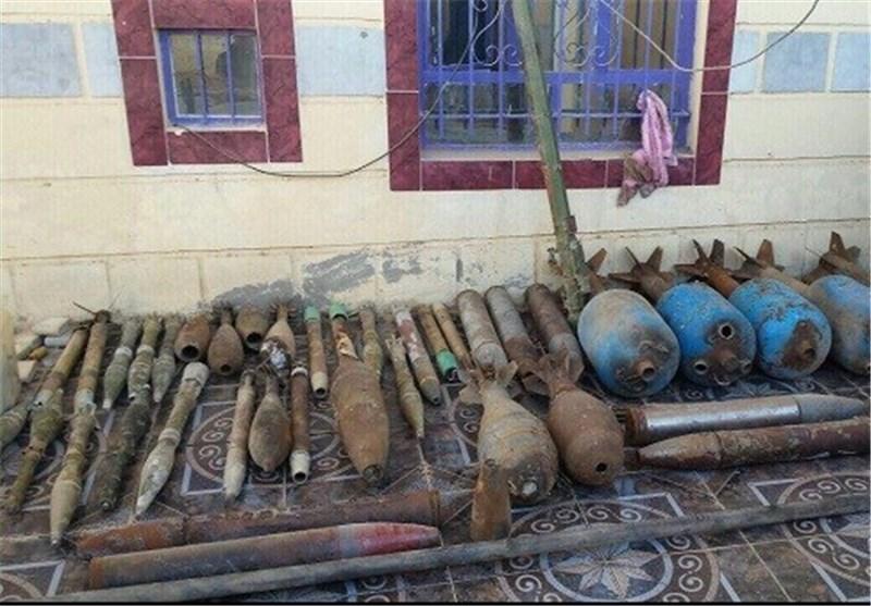 انبار تسلیحاتی داعش در الانبار