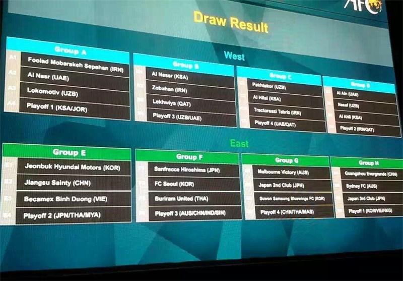 Iranian Teams Learn AFC Champions League Fate
