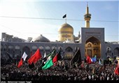 عزاداری صدها هیئت خراسان شمالی در مشهد مقدس؛ بیش از 70 هزار نفر راهی سرزمین طوس شدند