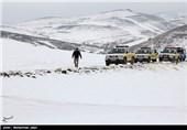 کولاک شدید سبب انسداد آزادراه زنجان – قزوین شد