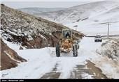 عملیات بازگشایی جاده های منتهی به زنجان