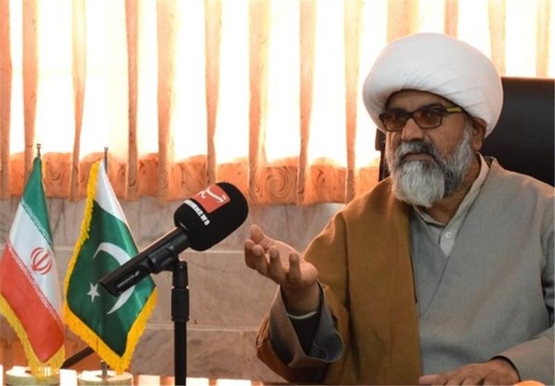 راجا ناصر عباس در دفتر منطقهای تسنیم