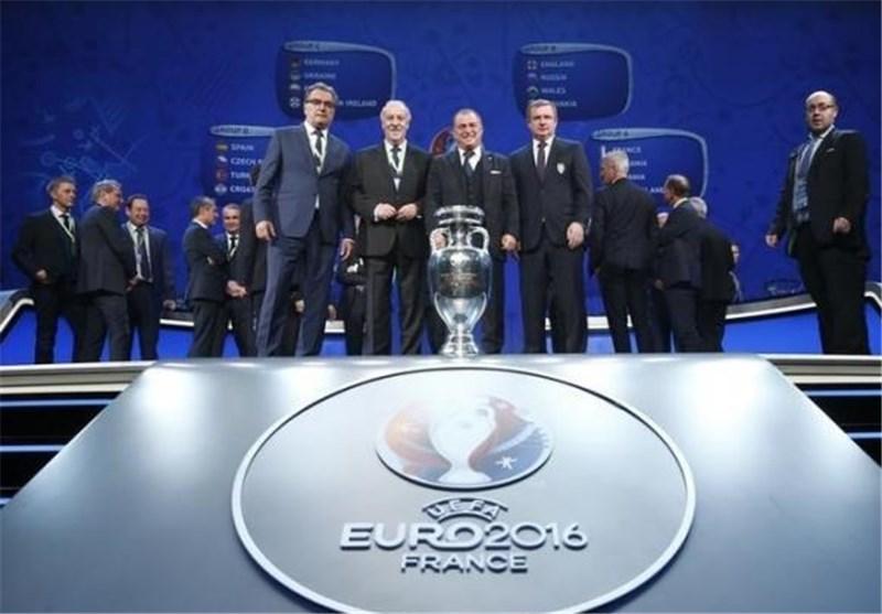 Euro 2016 Draw Made in Paris
