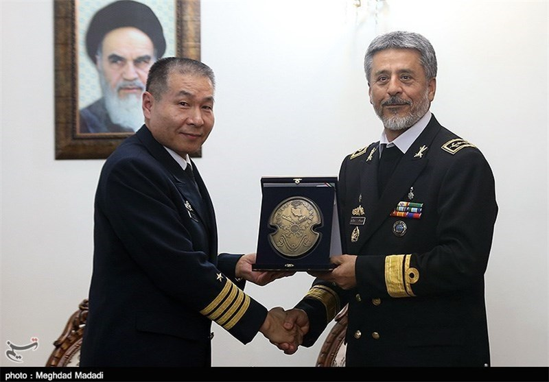 Iran, China Discuss Naval Cooperation