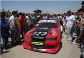 مسابقات اتومبیلرانی سرعت در استان کرمانشاه برگزار شد