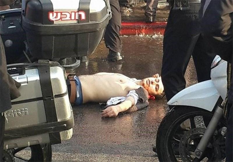 14 إصابة فی عملیة دهس وطعن فی القدس المحتلة واستشهاد المنفذ