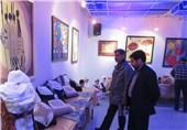 نخستین نمایشگاه هنری دانشجویان شهرستان شاهرود افتتاح شد