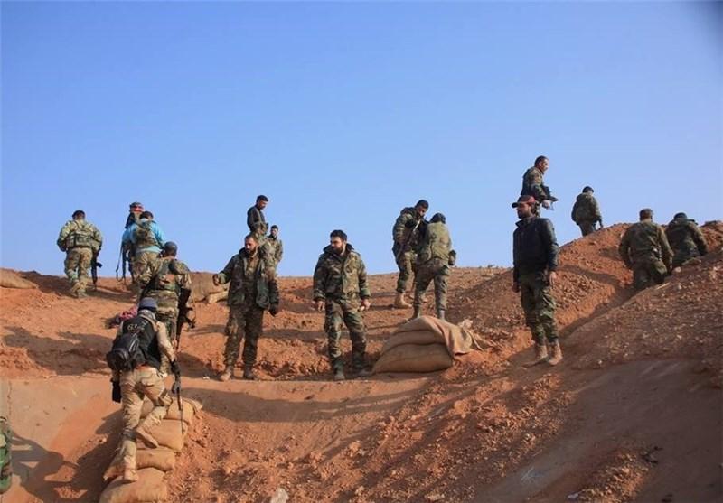 """الجیش السوری على مداخل """"الزربة"""" بریف حلب الجنوبی والمسلحین یهربون مخلفین أسلحتهم وقتلاهم"""