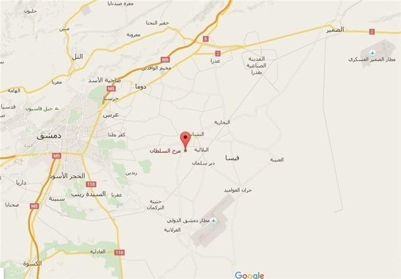 الأهمیة الاستراتیجیة لمطار مرج السلطان العسکری بریف دمشق