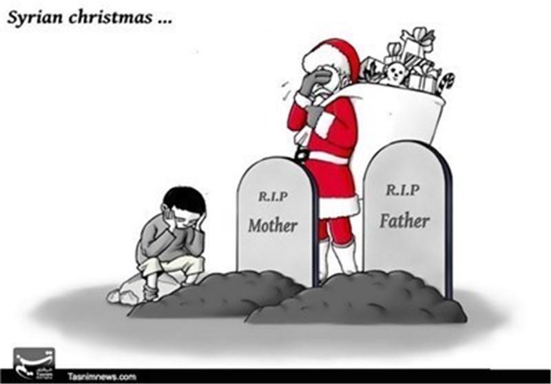 کاریکاتیر.. العام الجدید فی سوریا