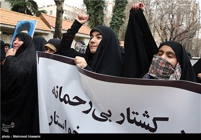 Protest Rally Held in Iran's Capital over Shiite Killings in Nigeria