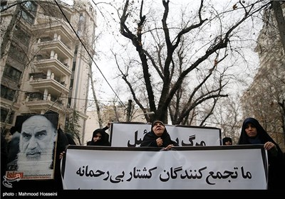 Protest Rally Held in Iran's Capital over Shiite Killings in Nigeria