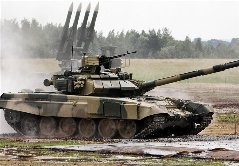 Russia to Boost Iraqi Army Potential with Upcoming Supplies of T-90 Battle Tanks