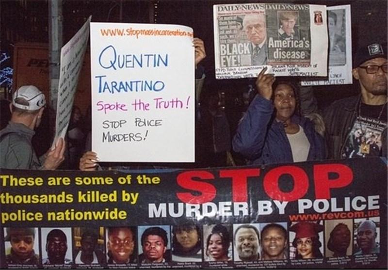 خشونت پلیس فرش قرمز هشت نفرت انگیز پلیس آمریکا کویینتین تارانتینو