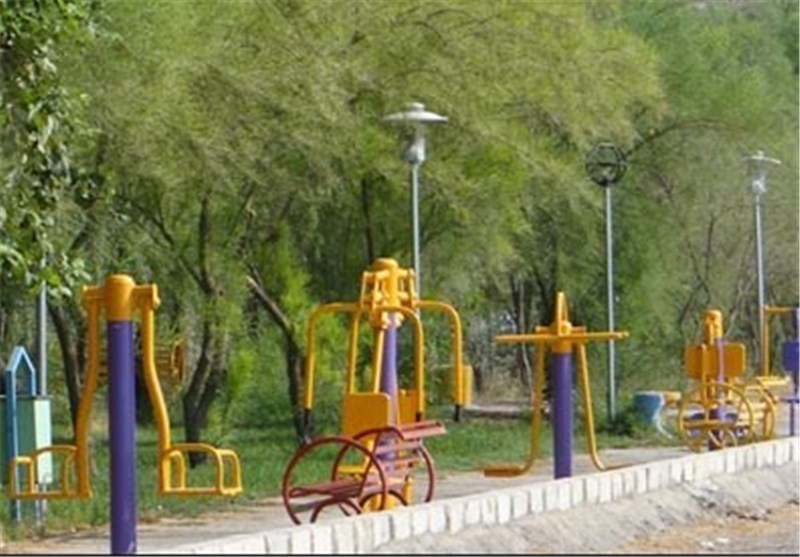 وسایل ورزشی پارکها