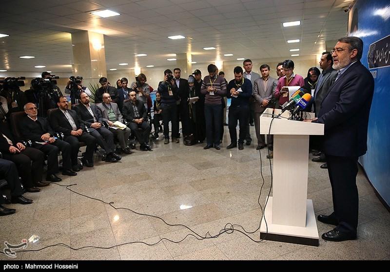 بازدید رحمانی فضلی از ستاد انتخابات کشور
