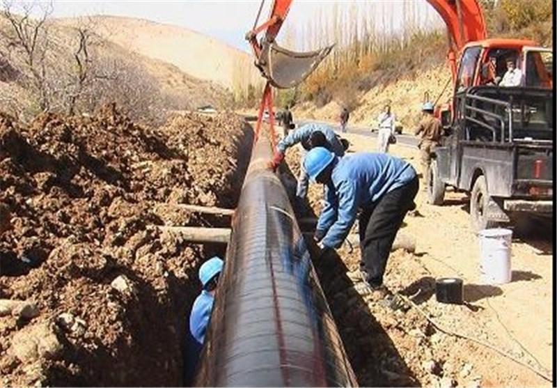 """""""آب"""" در شبکه آبرسانی باغک جنوبی تنگستان جاری شد"""