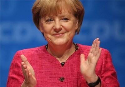 مرکل برای نهمین بار رئیس حزب دموکرات مسیحی آلمان شد