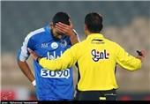 Esteghlal Midfielder Cheshmi Out for Season