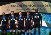 حضور ناظر کنفدراسیون فوتبال آسیا و فغانی