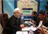 روحانی در انتخابات مجلس خبرگان رهبری نامنویسی کرد+ تصاویر