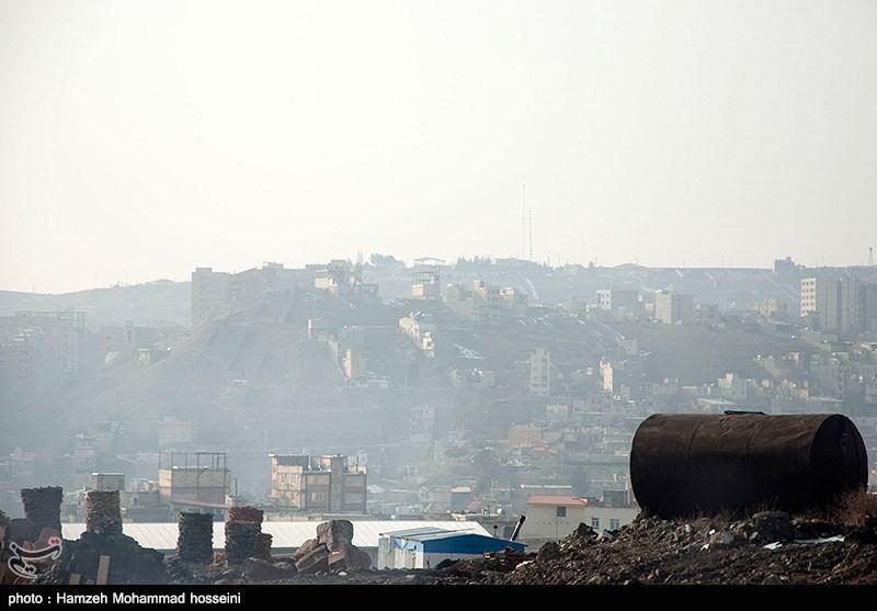 آلودگی هوای پردیس و بومهن