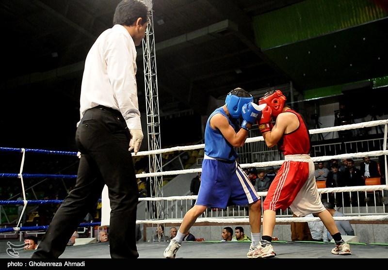 مسابقات بوکس انتخابی تیم ملی در مازندران