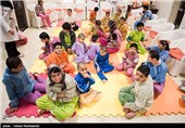 توریست های خارجی میهمان شب یلدای خیریه نرجس - شیراز