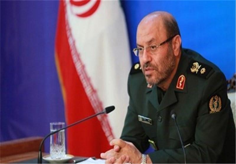 وزیر الدفاع : سنعرض انجازات صاروخیة جدیدة تثبت عدم جدوى الحظر الامریکی