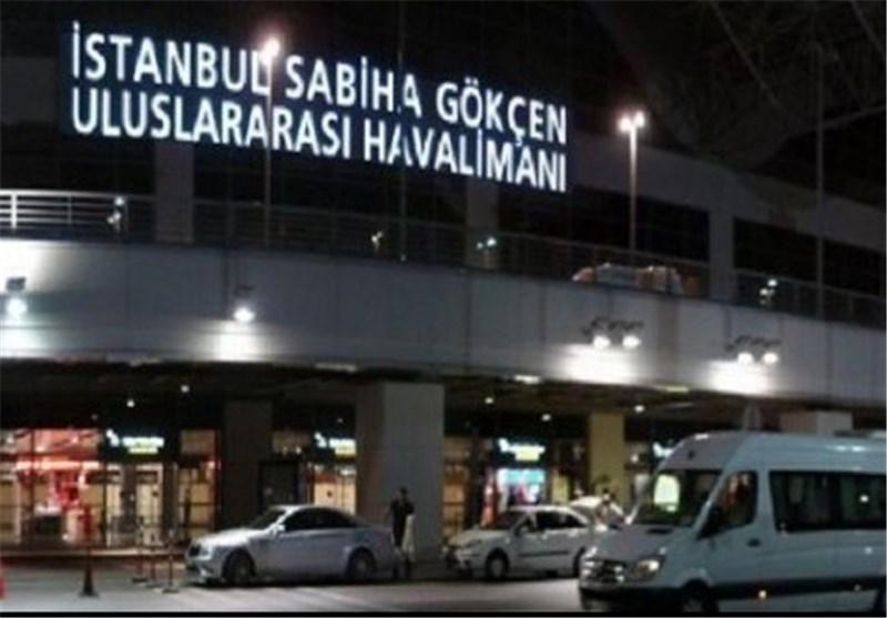 إصابة شخصین بعد وقوع انفجار فی مطار صبیحة جوکتشن بمدینة اسطنبول