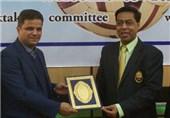 علیپور رئیس کنفدراسیون سپک تاکرای غرب آسیا شد