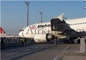 حادثه هواپیمای ماهان در فرودگاه استانبول + عکس