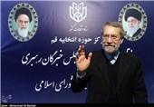 لاریجانی: مستقل وارد انتخابات شدهام/ جزو گروهی هستم که دغدغه آرمانهای انقلاب را داشته باشد