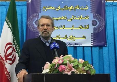 Iran's Larijani: Unity Sole Way to Resolve Challenges Facing Muslims
