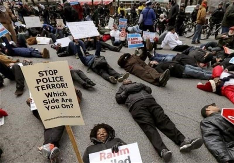 درخواست مردم شیکاگو برای محاکمه پلیس قاتل نوجوان سیاهپوست