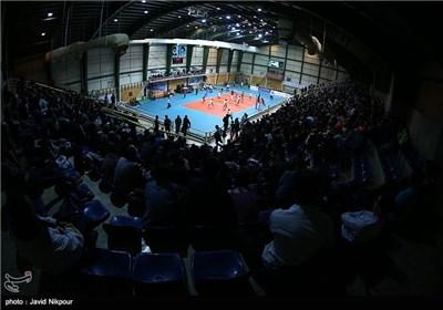دیدار تیم های والیبال سرمایه و شهرداری ارومیه